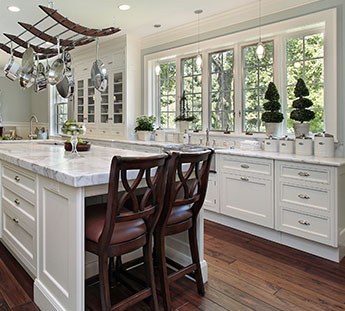 Kitchen with Beautiful Windows in Sarasota County