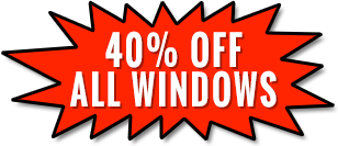 40% Off All Windows